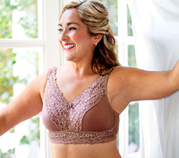 American Breast Care Embrace Mastectomy Bra - Higher Neckline - Lower Price!