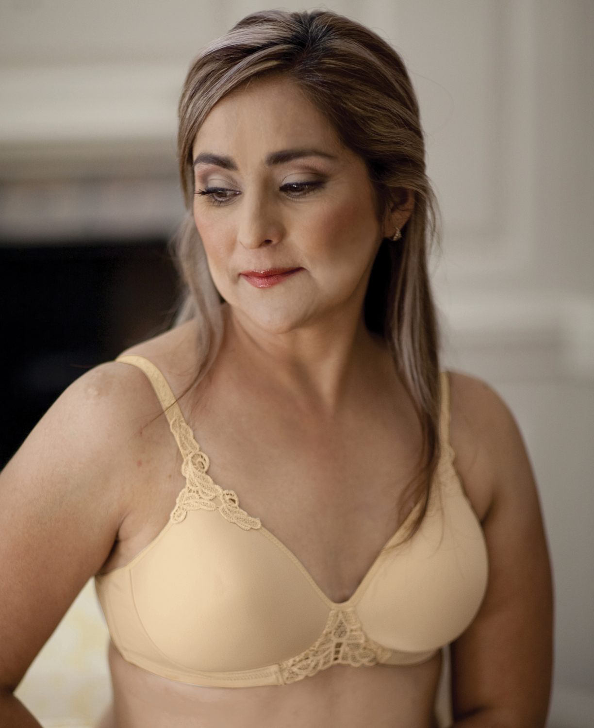 db1ca6a41a American Breast Care Petite T-Shirt Seamless Mastectomy Demi Bra - NOW IN  AA CUPS