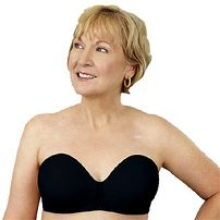 American Breast Care Seamless Strapless Mastectomy Bra