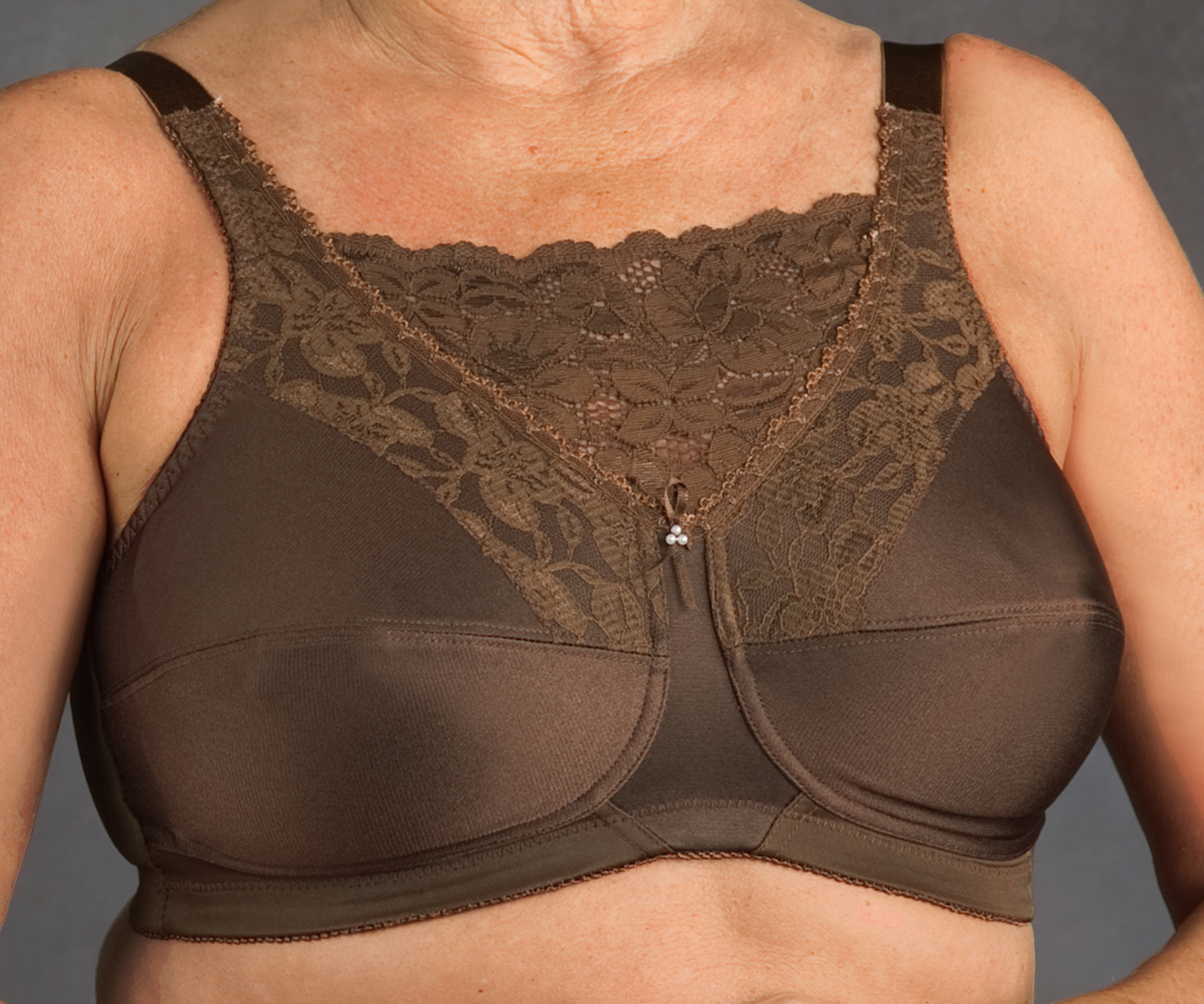 Nearly Me Mastectomy Lace Camisole Bra Wph