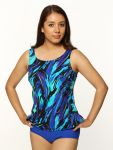 Style THE 32-80/749 -  T.H.E. Mastectomy Tankini Top - Very Versatile Print
