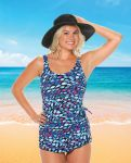 Style 965-60/743 -  T.H.E. Mastectomy Sarong Swimsuit - BESTSELLER