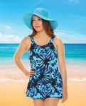 Style THE 996-60/742/SALE -  T.H.E. Mastectomy Swim Dress - SIZE 10