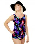 Style THE 965-60/762 -  T.H.E. Mastectomy Sarong One Piece Bathing Suit