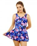 Style THE 996-60/760 -  T.H.E. Mastectomy Swim Dress - Skirt and Panty Attached