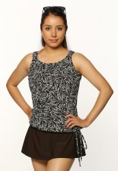 Style THE 16-60/747 -  T.H.E. Mastectomy Tank Strap Blouson - Mix 'n Match