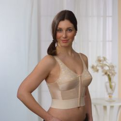 Style 1550 - Almost U Style 1550 - Front & Back Closure Long Line Bra