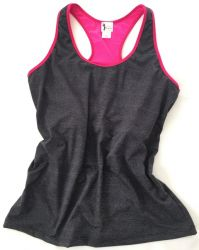 Style YT770 -  Mastectomy Yoga Tank - Antimicrobial & Wicking Fabric - NEW