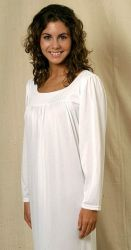 Style LSNG - Long Sleeve Nightgown For Nightsweats