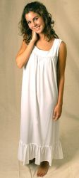 Style SNLG - Sleeveless Nightgown for Night Sweats