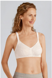 Style 44136 -  Amoena Mastectomy 3-Part Lace  Bra 44136