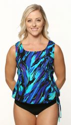Style THE 59-00/749 -  T.H.E. Mastectomy Wear Your Own Bra Swim Top