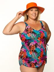 Style THE 965-80/409/sale -  T.H.E. Mastectomy Classic Sarong Swim Suit - SALE