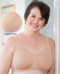 Style ABC 128 -  American Breast Care Jaquard soft Cup Bra