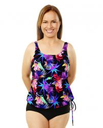 Style THE 16-80/762 -  T.H.E. Mastectomy Blouson Top - Mix'n Match - Queen Size