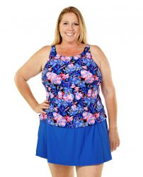 Style THE 32-60/760 -  T.H.E. Mastectomy Tankini Top - Great Coverage