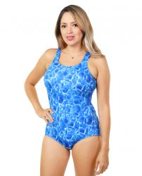 Style THE 918-60/761 -  T.H.E. Mastectomy Tank Swim Suit Swimmer's Back