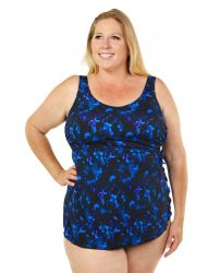 Style THE 965-60/763 -  T.H.E. Mastectomy Sarong Bathing Suit