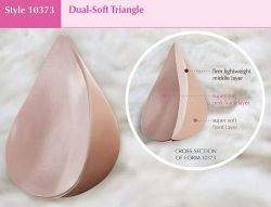 Style ABC 10373 -  American Breast Care Dual Soft Triangle - A New Breast Form!