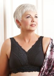 Style ABC 503 -  American Breast Care Embrace Mastectomy Bra - Higher Neckline - Lower Price!