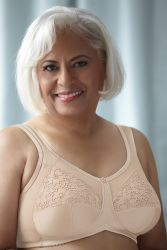 Style ABC 509 -  American Breast Care Royal Lace Bra - New!! - Support For Larger Sizes