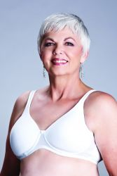 Style ABC 106 -  American Breast Care The T-Shirt Mastectomy Bra - NEW LOWER PRICE!