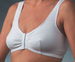 Style Nearly Me 500 -  Nearly Me Cotton Front-Closure Leisure Bra