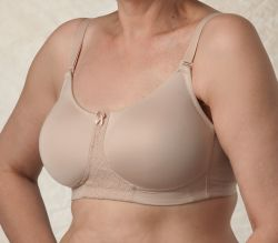 Style Nearly Me 540 -  Nearly Me  Lace Molded Cup Mastectomy Bra - Seamless!