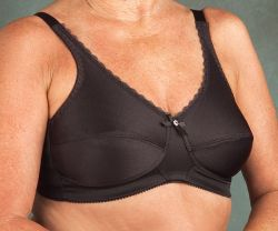 Style Nearly Me 630 -  Nearly Me Mastectomy Plain Soft Cup Bra - Larger Sizes!