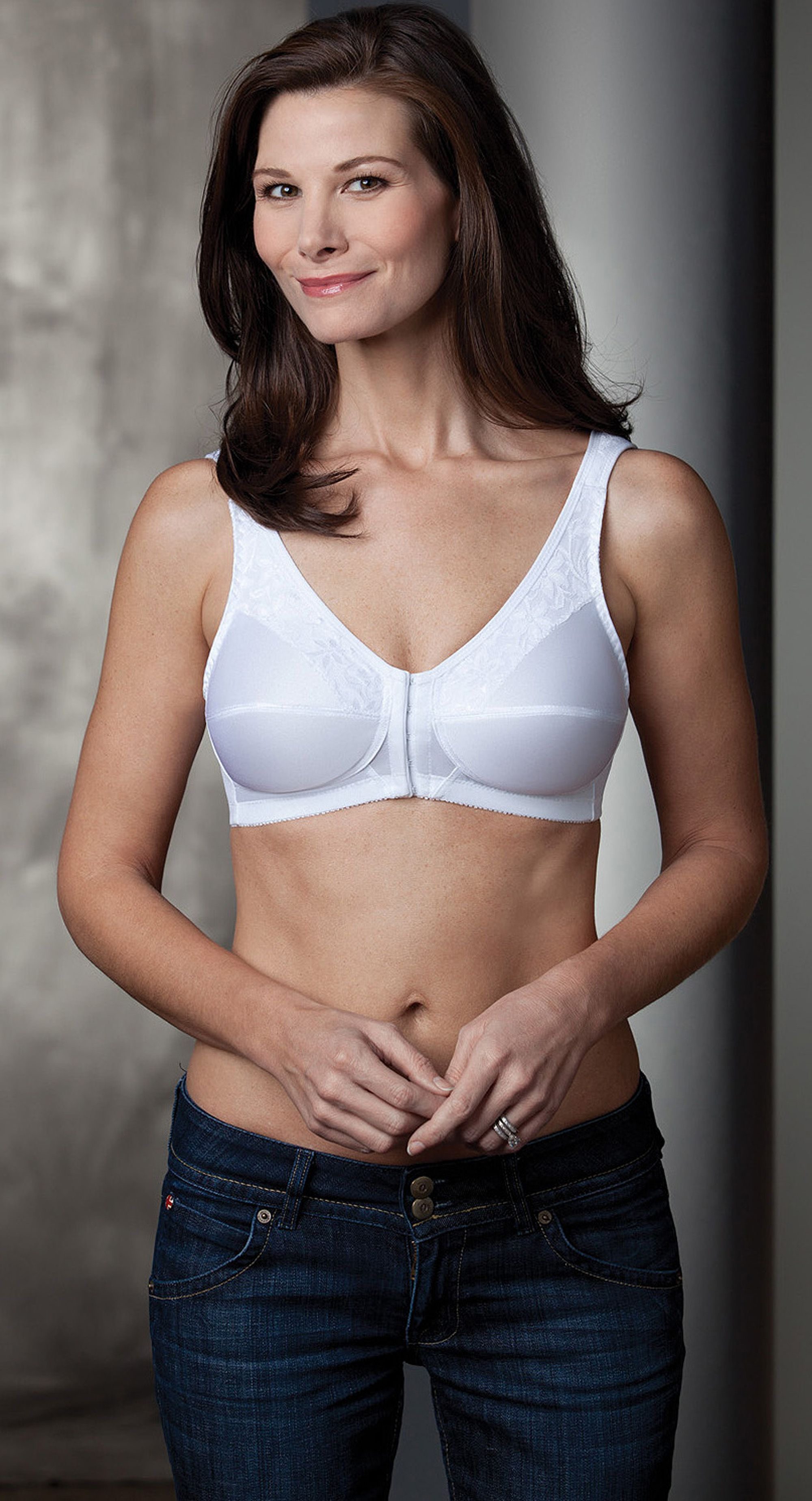 bbe6d42a93 Style 212 - Trulife Front Closure Mastectomy Bra- 212