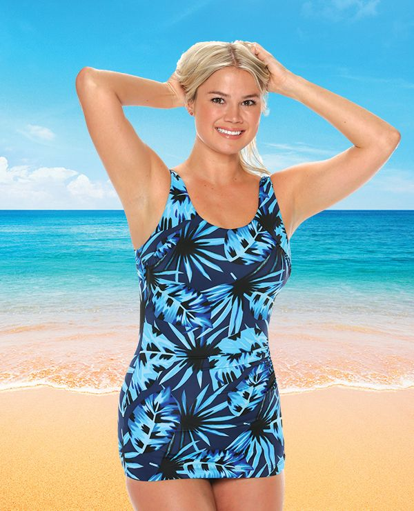 25479a8fb71b6 Style THE 915-60 742 - T.H.E. Mastectomy Swimsuit - Modesty Panel