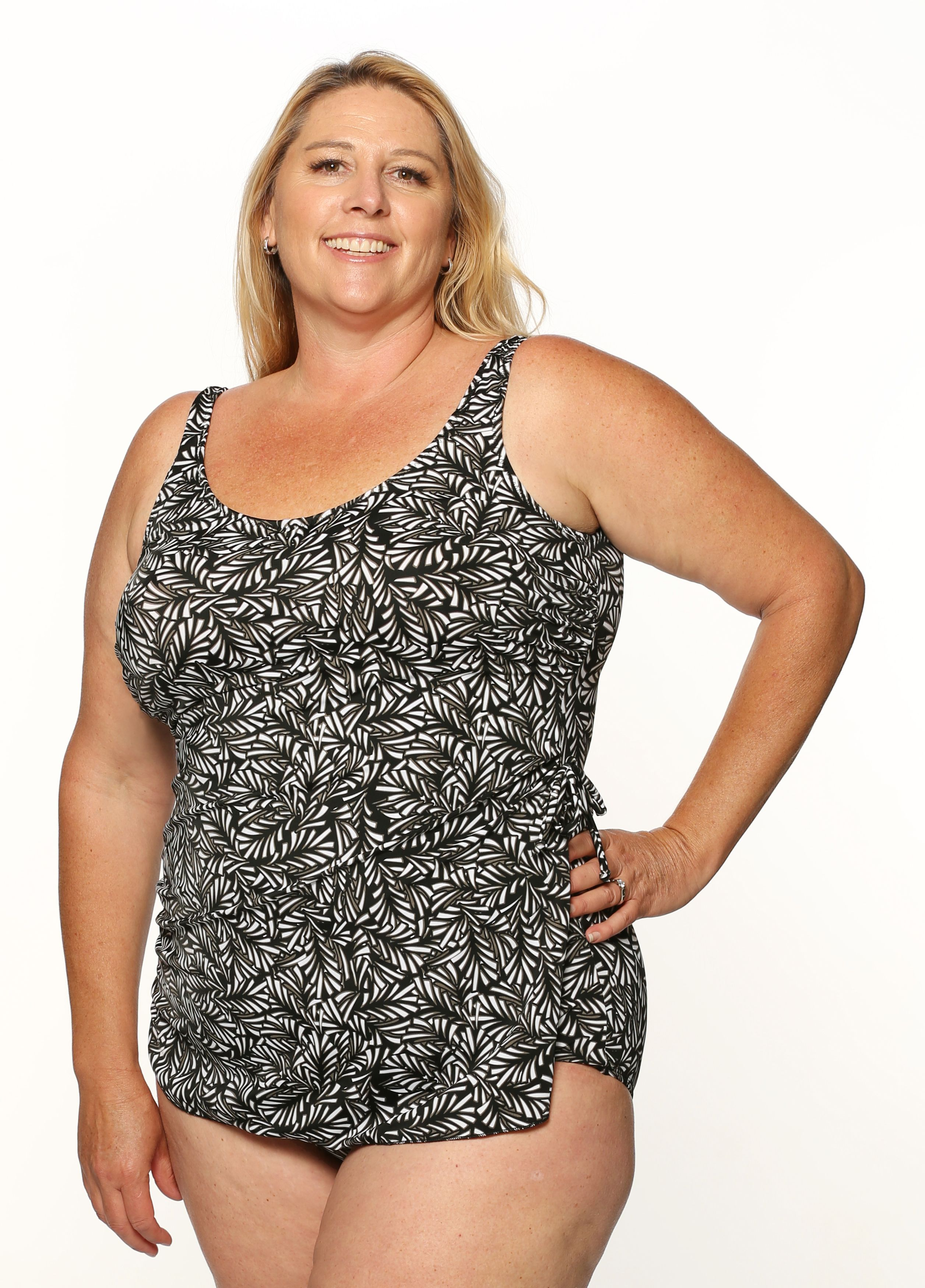 get online cheap choose official T.H.E. Mastectomy Sarong Swimsuit - BESTSELLER- QUEEN SIZE
