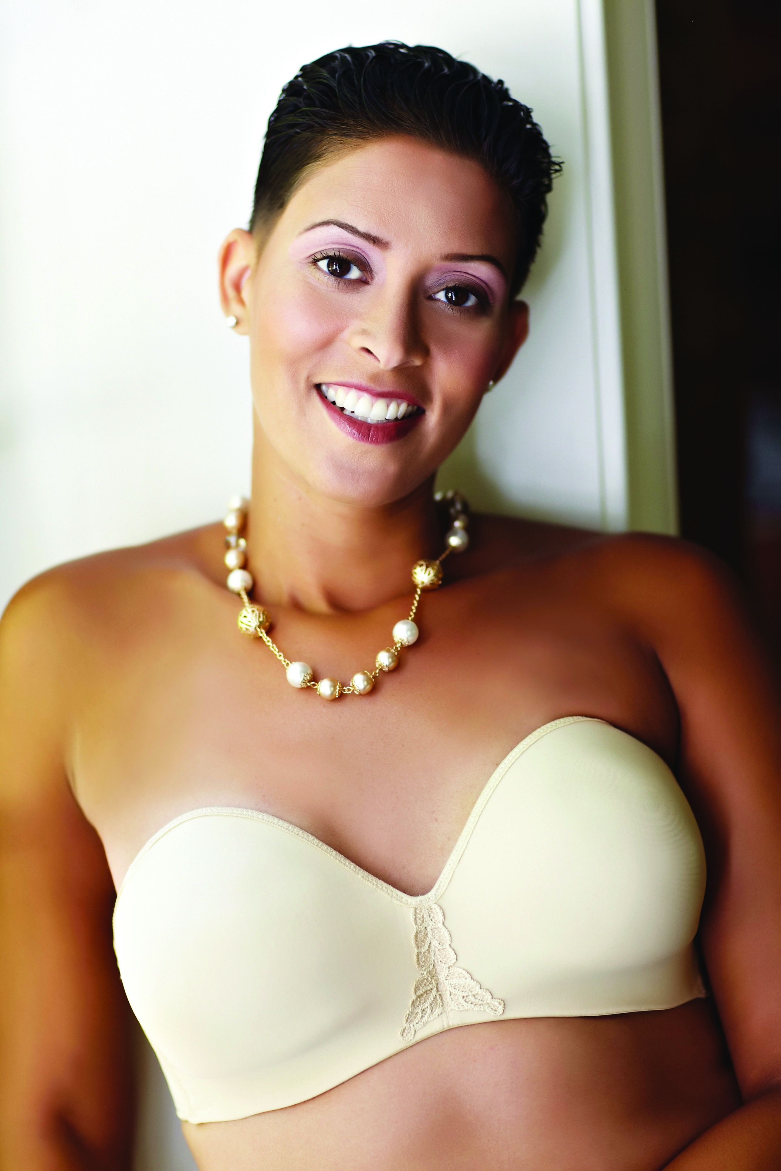 d2c91d6d26 Style ABC 112 - American Breast Care Seamless Strapless Mastectomy Bra