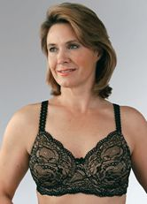 2450202c3e Classique Mastectomy Lace Bra w Lining - Underwire or Soft Cup