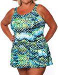 Style THE 996-80/737 -  T.H.E. Mastectomy Swim Dress - Classic Fit