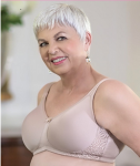 Style ABC 127 -  American Breast Care T-Shirt Lace Contour Mastectomy Bra
