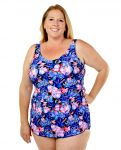 Style THE 965-60/760 -  T.H.E. Mastectomy Classic Sarong Swim Suit - Great Coverage