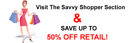 Savvy Shopper Sale Items
